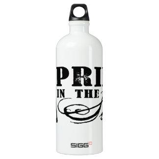 Pride in the Side Water Bottle