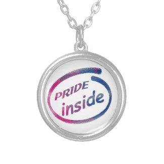 Pride Inside Bi Pride Stuff Pendant