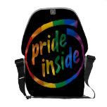 PRIDE INSIDE MESSENGER BAGS