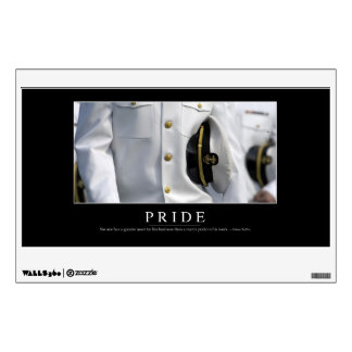 Pride: Inspirational Quote 2 Wall Decal