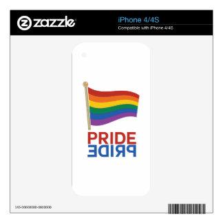 Pride iPhone 4S Skin