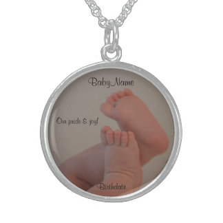 Pride & Joy Baby Toes SS Necklace CUSTOMIZE