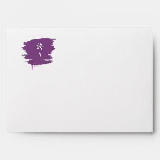 Pride Kanji - Hokori Envelope
