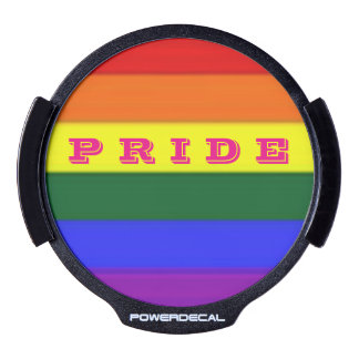 PRIDE LED Power Decal