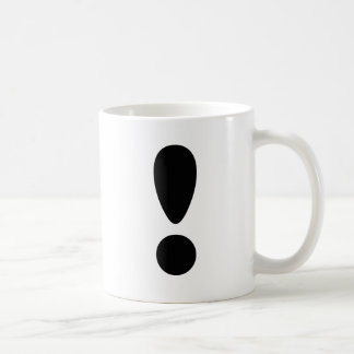 Pride Letter Exclamation.PNG Classic White Coffee Mug