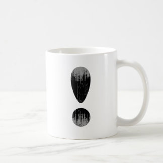 PRIDE LETTER EXCLAMATION VINTAGE.png Classic White Coffee Mug