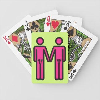 Pride (male) poker cards