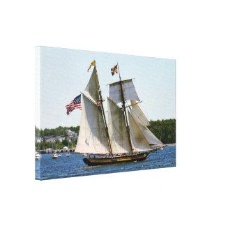 Pride of Baltimore II Tall Ship Photo Canvas Print