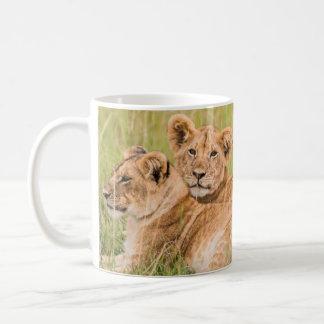 Pride of Lion Cubs Coffee Mug