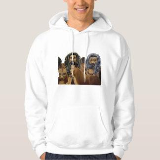 pride of rasta lions hoodie