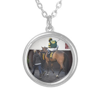 Pride of Saratoga Silver Plated Necklace