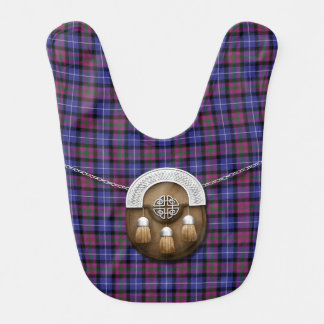 Pride Of Scotland Fashion Tartan And Sporran Bib