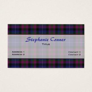 Pride of Scotland Tartan Plaid Custom Business Card