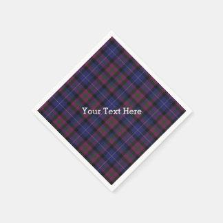Pride of Scotland Tartan Plaid Paper Napkins