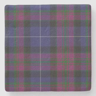 Pride of Scotland Tartan Plaid Stone Coaster