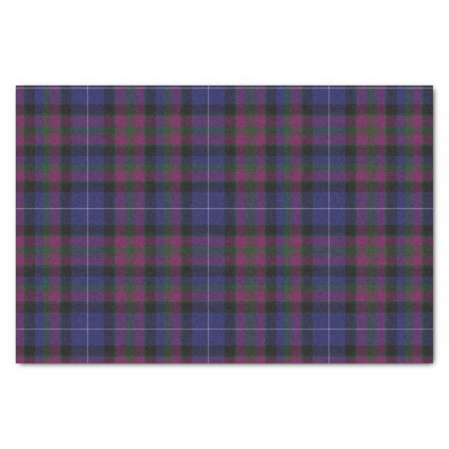 Pride of Scotland Tartan Plaid Tissue Paper