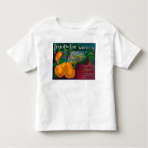 Pride of the River Pear Crate LabelLocke, CA Toddler T-shirt