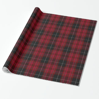 Pride of Wales Tartan Wrapping Paper