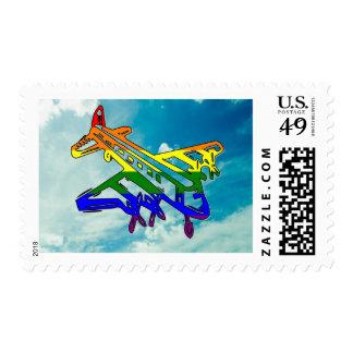 Pride Plane Postage