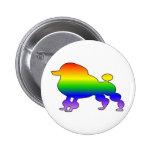 Pride Poodle Buttons