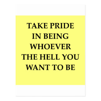 pride postcard