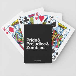 Pride & Predjudice & Zombies Bicycle Playing Cards