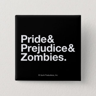 Pride & Predjudice & Zombies Pinback Button