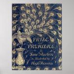 Pride & Prejudice Antique Cover Poster