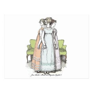 Pride & Prejudice-Lydia The Tallest Bennet Sister Postcard