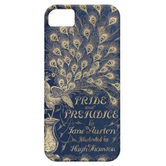 Pride & Prejudice peacock iPhone cover iPhone 5 Cover