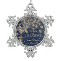 Pride & Prejudice Peacock Ornament