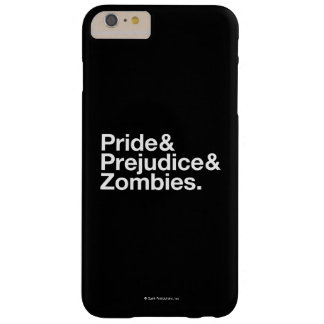 Pride & Prejudice & Zombies Barely There iPhone 6 Plus Case