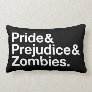 Pride & Prejudice & Zombies Lumbar Pillow