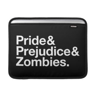 Pride & Prejudice & Zombies MacBook Sleeve