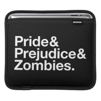 Pride & Prejudice & Zombies Sleeve For iPads