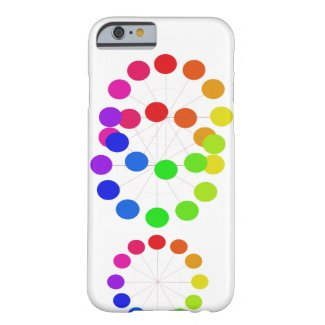 Pride Rainbow Colorwheel Spectrum CricketDiane Barely There iPhone 6 Case