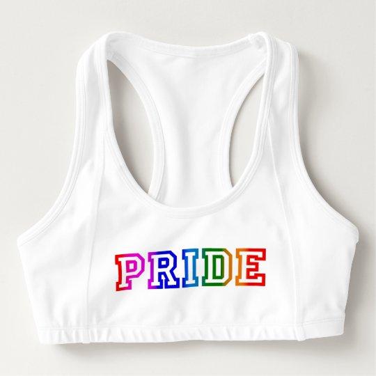 e57e82984c PRIDE Rainbow Sports Bra