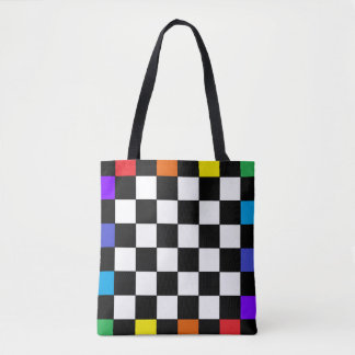 PRIDE Rainbow Tote Bags Diversity Inclusion March