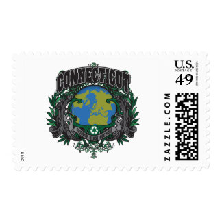 Pride Recycle Connecticut Stamp