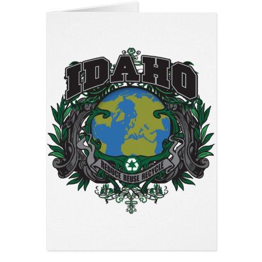 Pride Recycle Idaho Greeting Card
