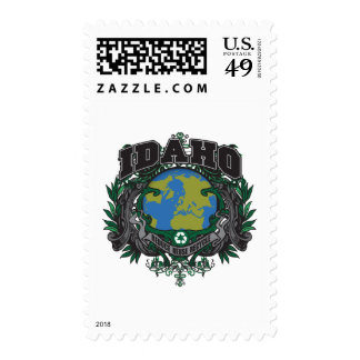 Pride Recycle Idaho Stamps
