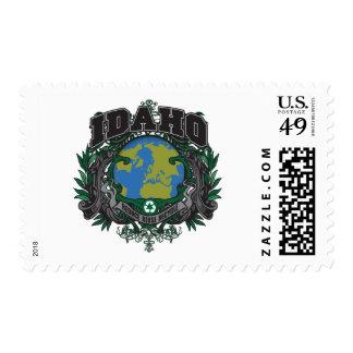Pride Recycle Idaho Postage Stamp
