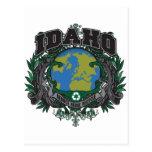 Pride Recycle Idaho Postcard