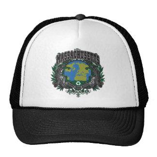 Pride Recycle Massachusetts Trucker Hat