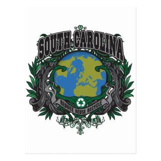 Pride Recycle South Carolina Postcard