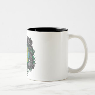 Pride Recycle Tennessee Two-Tone Coffee Mug