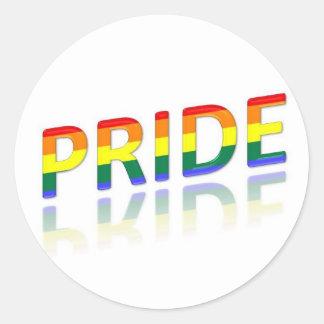 Pride Reflection Stickers