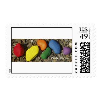 Pride Rocks! Stamp