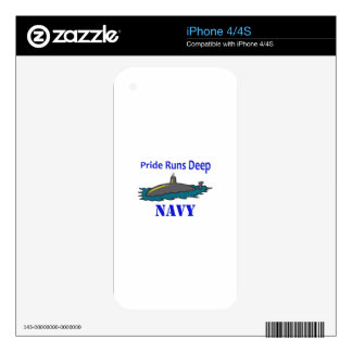 PRIDE RUNS DEEP DECALS FOR iPhone 4S