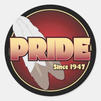 PRIDE Since 1947 Classic Round Sticker